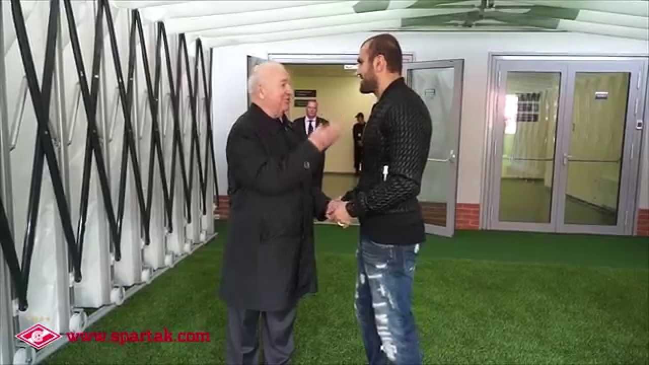 Встреча двух бомбардиров. Никита Симонян и Юра Мовсисян