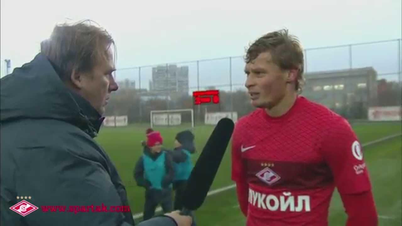 Макеев о дебюте за «Спартак-2»