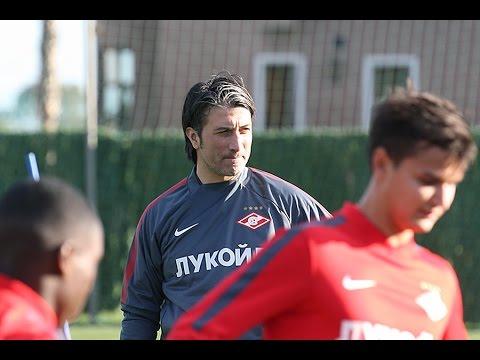 Первая тренировка «Спартака» в Марбелье